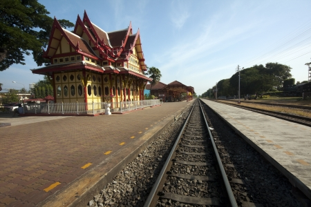 Hua Hin Station   Royal Pavilion Stock Photo - 17615407