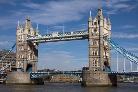 연합 왕국: 타워 브리지, 런던 스톡 사진