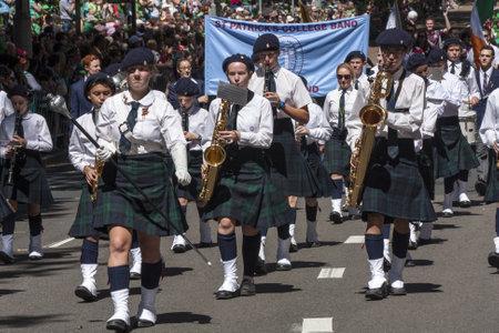 saint paddy's: SYDNEY, AUSTRALIA - Mar 17TH  St Patrick Editorial