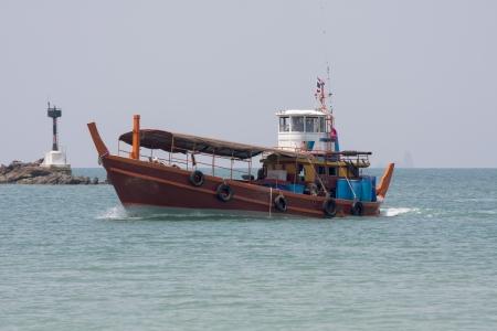 phang nga: Fishing boat in Phang Nga Bay, Thailand