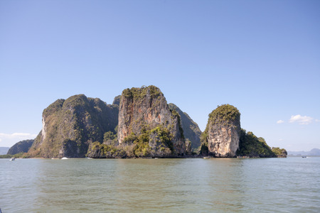 Koh Hong in Phang Nga Bay, Thailand photo