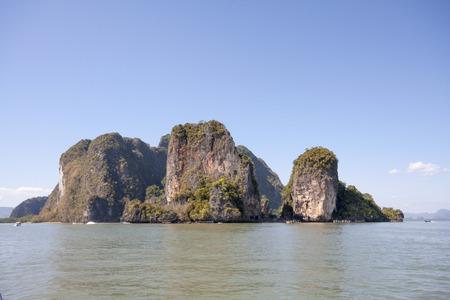 phang nga: Koh Hong in Phang Nga Bay, Thailand
