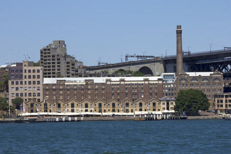 port jackson: Bonded warehouses in the Rocks area of Sydney