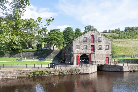 The Canal and River Trust's Stanedge Tunnel Visitor Centre, Marsden, Yorkshire, England, United Kingdom