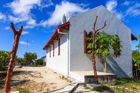 Chapel of Our Lady of Lourdes, Easo, New Caledonia, South Pacific