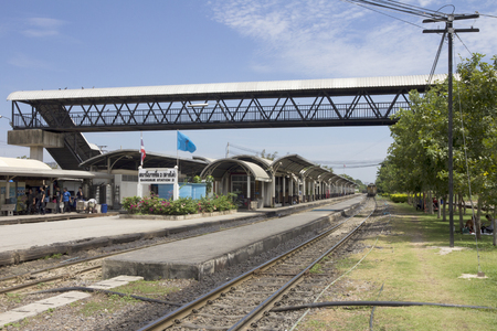 Bangkok, Thailand - September 23rd 2014: Bang Sue railway station. The station connects with the underground network. Editorial