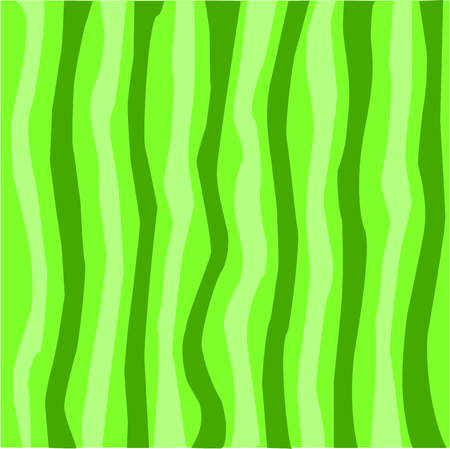 Watermelon design background, stripes with different shades of green borderless pattern. Vectores