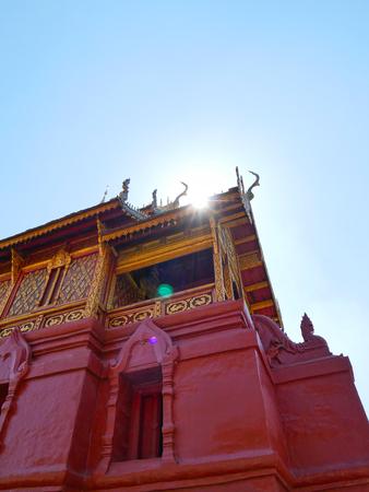 Wat Phrathat Haripunchai temple of Thailand