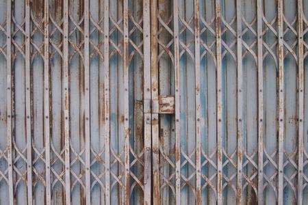 gage: metal slide door