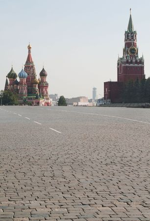 The Red Square in Moscow Russia photo