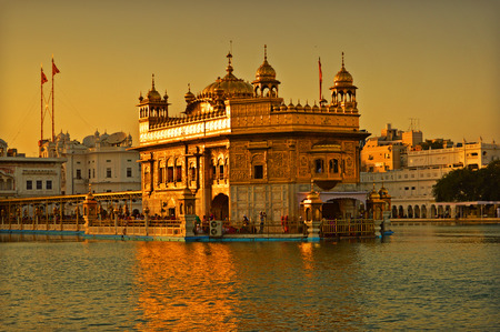 house of worship: Golden Temple - House of Worship Stock Photo
