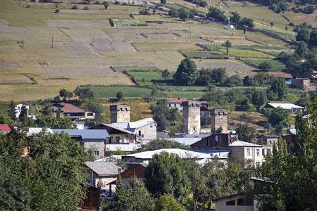 Architecture of Svaneti, Georgia