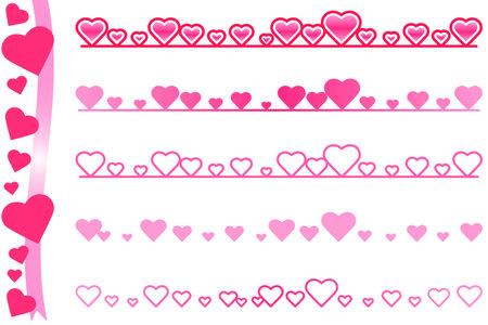 Heartline_Pink 写真素材 - 161215364