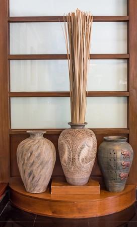 Beautiful ancient vase photo