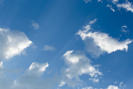 sparse: clouds with blue sky
