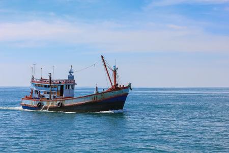 fishing boat: Fishing boat