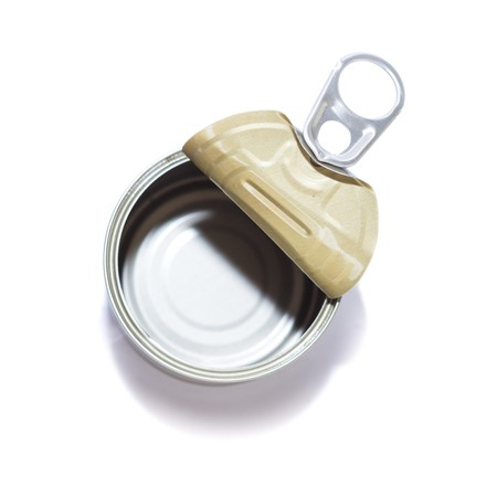 Empty Opened Tin Can p...