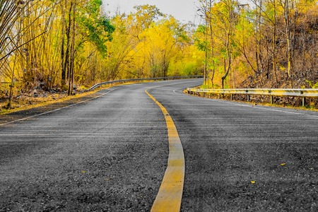 the bigger picture: Fall scenic highway