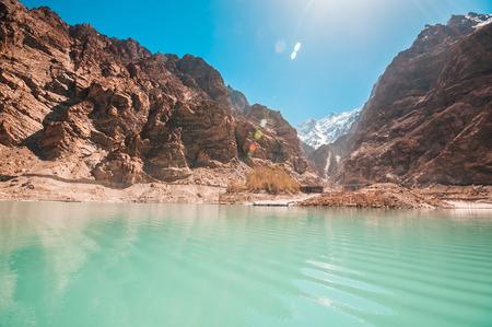 Pakistan: Attabad Lake in Northern Pakistan