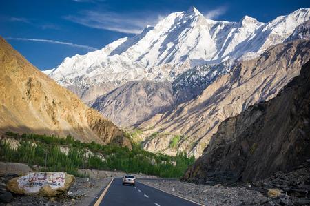 Pakistan: Karakorum Highway in Pakistan Editorial
