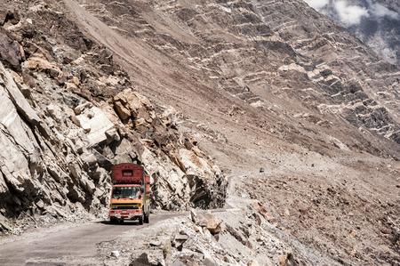 Karakorum Highway in Pakistan Zdjęcie Seryjne