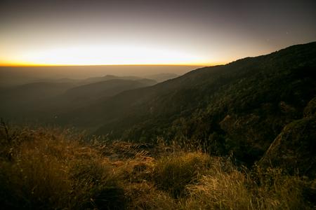 faintly visible: Colorful at Dawn