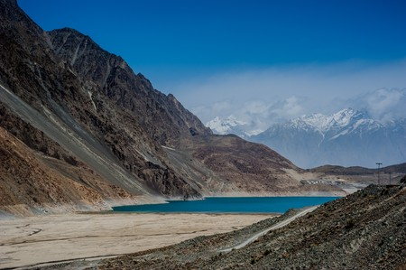 Pakistan: Lake in Skardu Valley, Pakistan