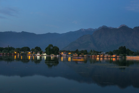 water scape: Dal lake, Kashmir, India