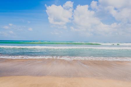 The Kuta beach in Bali Indonesia
