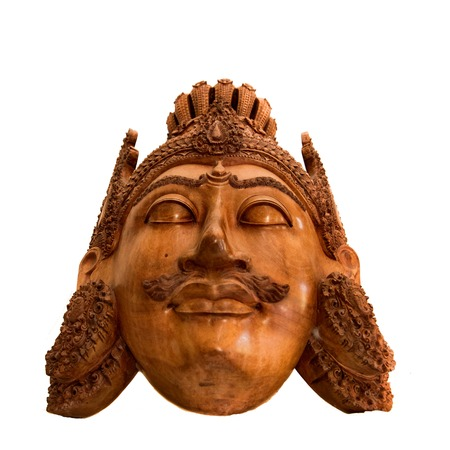 Balinese wooden craft of Sita