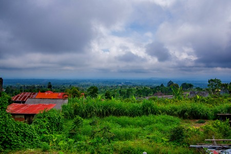 countryside of bali, indonesia