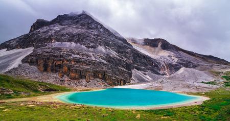 Milk lake, Yading national park, China Stok Fotoğraf