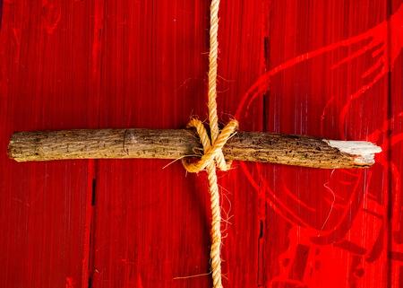 gefesselt: rope tied