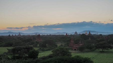 The Temples of Bagan in Myanmar