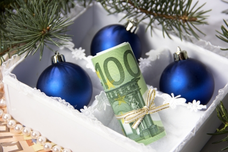 Money for Christmas  photo