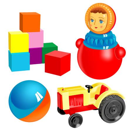 vector toys Stock Vector - 4003510