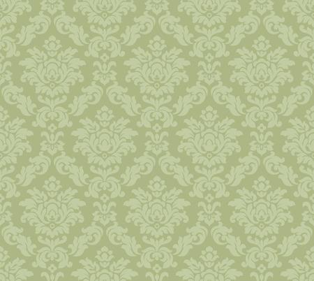 baroque venetian wallpaper - vector illustration Stock Vector - 4767850