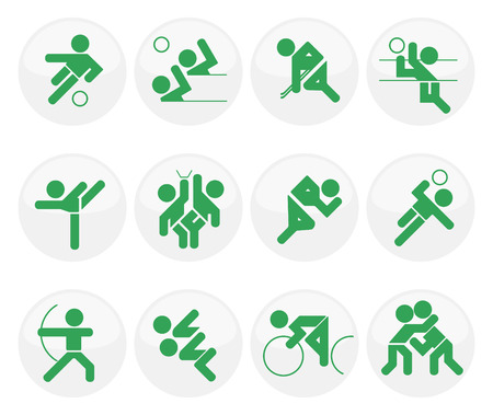 set of vector sport icons Vector