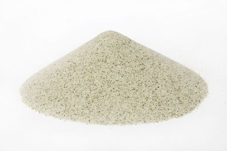 sands cone - ore of mining industry photo