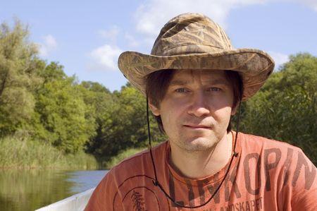 outddor man's portrait Stock Photo - 5393680