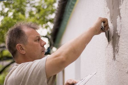 man makes renovation outdoor Stock Photo - 6386035