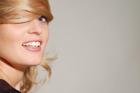 beautiful smiling blond woman Stock Photo - 8071991