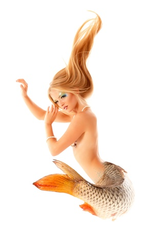 mermaid beautiful magic mythology  photo
