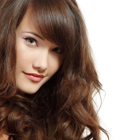 asian teenager: teen girl beautiful cheerful enjoying isolated on white background