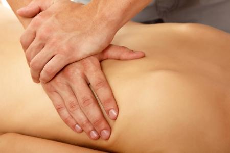 adult massage: massage woman young beautiful