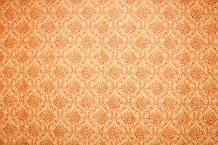 decorative wallpaper: vintage floral wallpaper background  Stock Photo