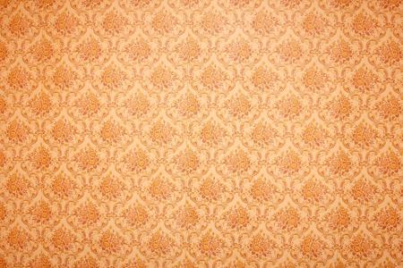 vintage wallpaper: vintage floral wallpaper background  Stock Photo