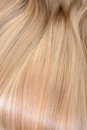 blonde streaks: Hair. Texture of natural beautiful hair.