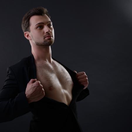 mid adult men: Portrait of handsome young man