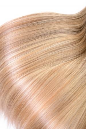 blond streaks: Hair. Texture of natural beautiful hair.